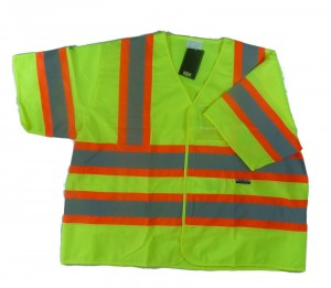 High Visibility Reflective Short Sleeve Vest Class 3 300x261 Hi Viz