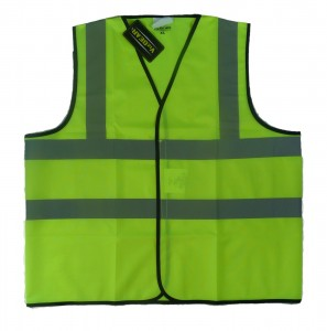 High Visibility Reflective Sleeveless Vest Class 2 297x300 High Visibility Reflective Sleeveless Vest   Class 2