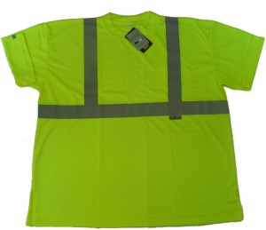 High Visibility Reflective T Shirt Class 2 300x259 Hi Viz