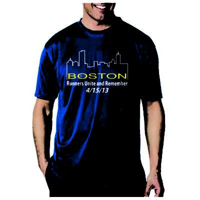 Boston Marathon Memorial T-Shirt