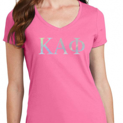 custom sorority tees with foil