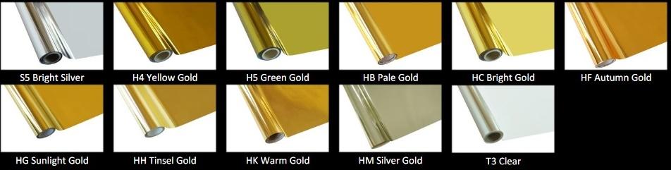 gold foil t shirt printing