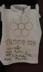 Girl Scouts Rhinestone T-Shirts