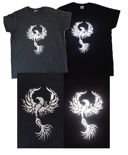 Rise like a phoenix ambro manufacturing contract for T shirt screen printing phoenix