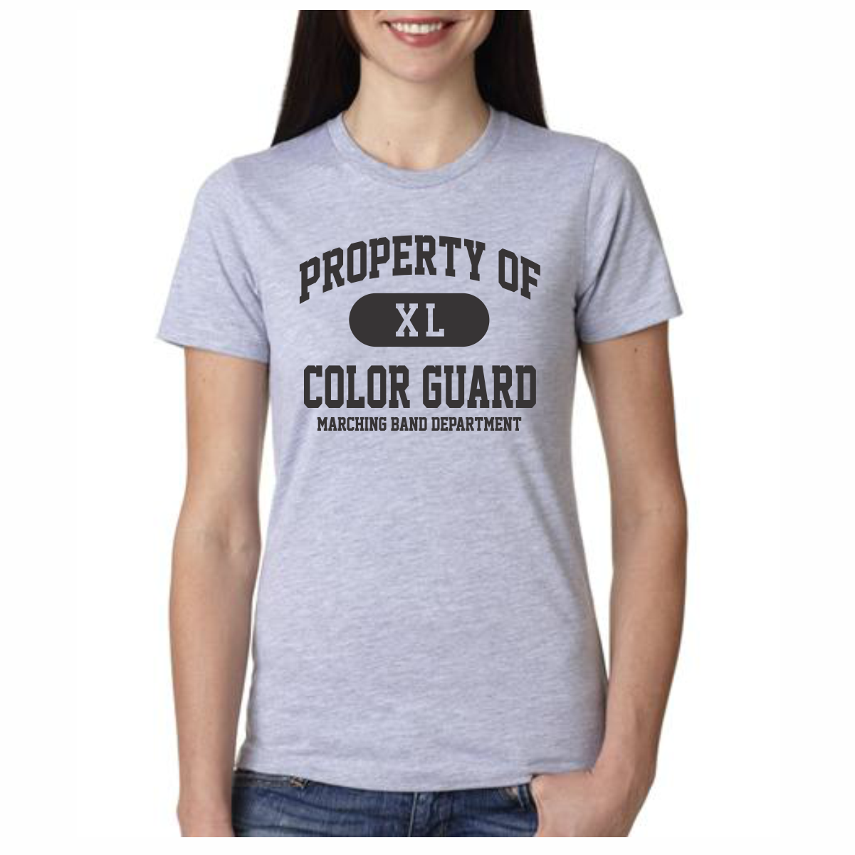 Color Guard T Shirt Property Of