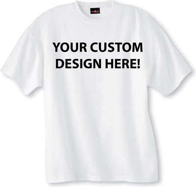 Custom t shirts custom tees customized t shirts for Custom t shirts and embroidery