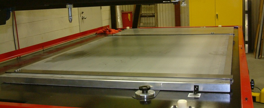 Large Format Silk Screening