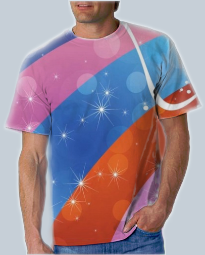 Dye Sublimation Printing on T-Shirts