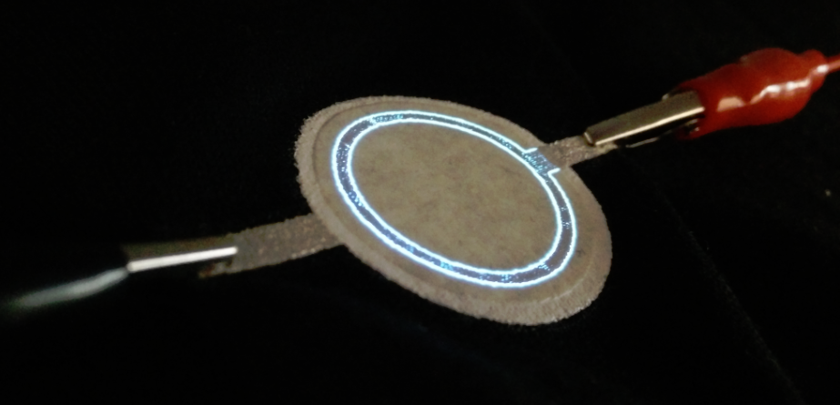 Electroluminescent Screen Printing Wearables