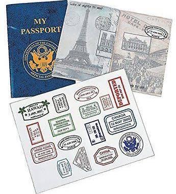 Custom Novelty Passports