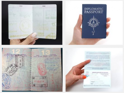 Novelty Passport Printing