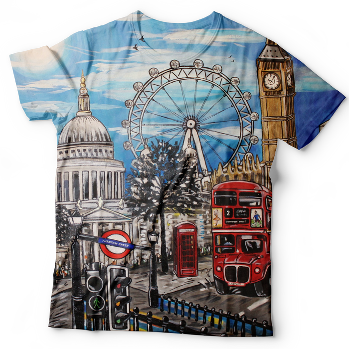 11307f576 All Over Dye-Sublimation T Shirt Printing | Custom Sublimated T Shirts