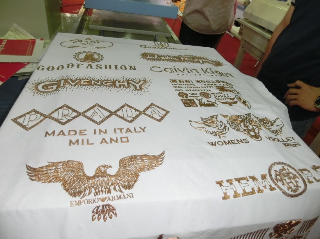 Custom Foil Printing Services Screen Printing T Shirts With Foil