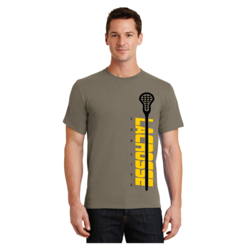 Lacrosse For Life T-Shirt LAX T-Shirt