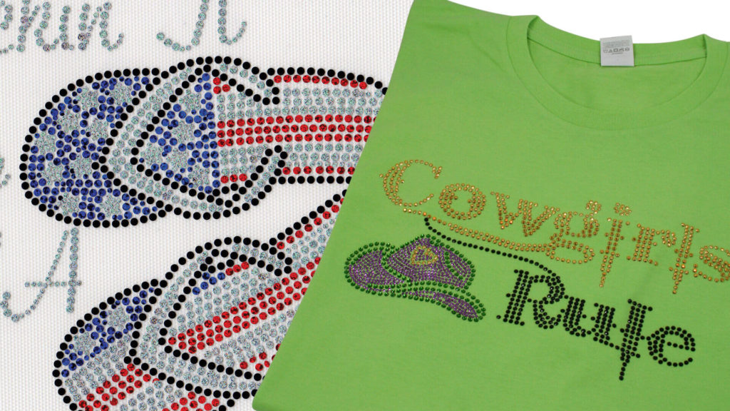 Customizing Tees with Spangles