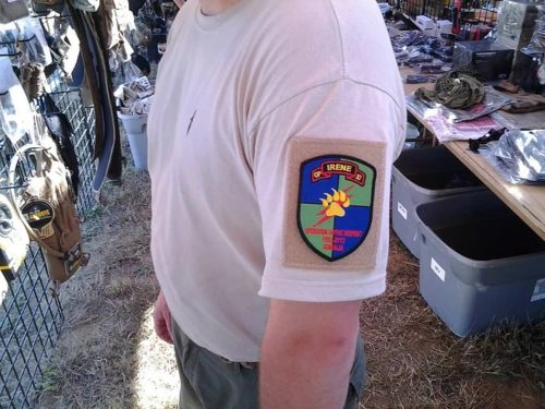 morale patch t shirts