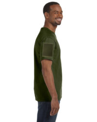 Shirts With Velcro Sleeves Military Green