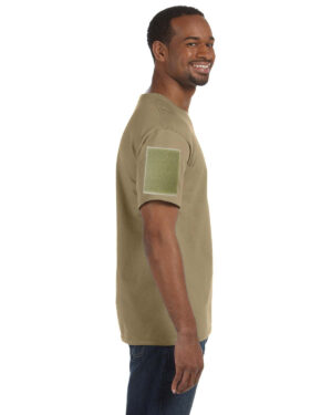 Shirts With Velcro Sleeves Beige