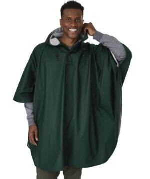 Green Waterproof Poncho