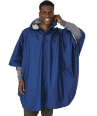 Royal Blue Waterproof Poncho