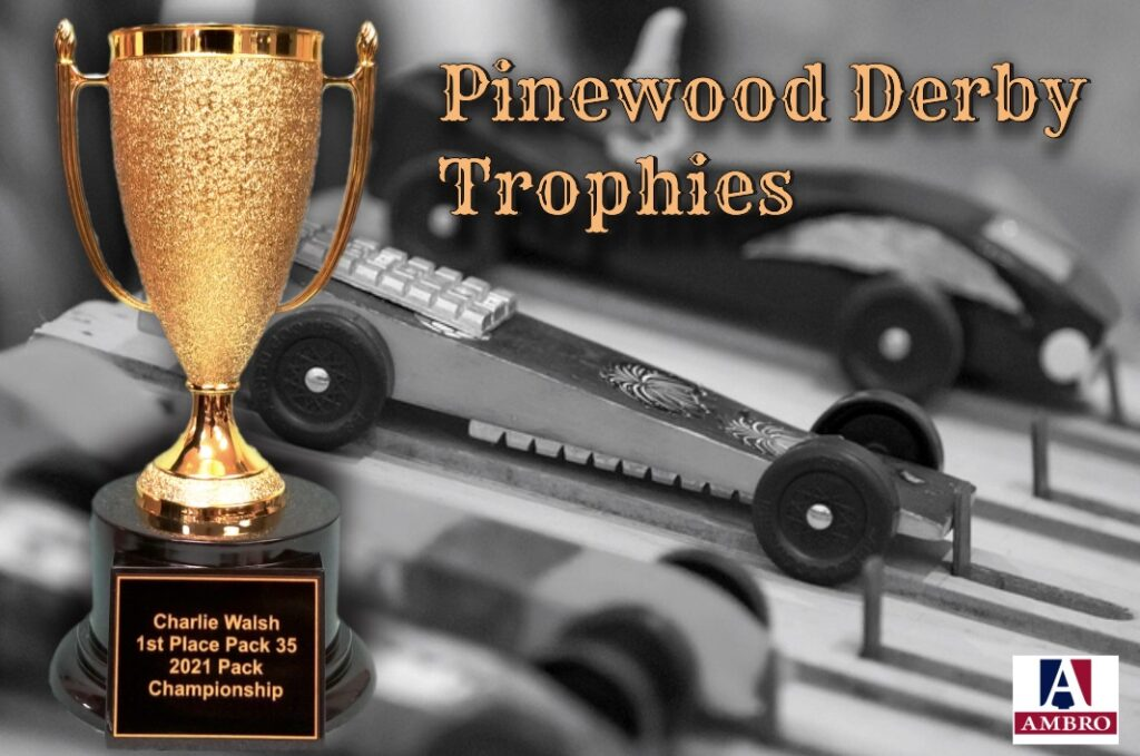Pinewood Derby Trophies